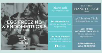 CIGC's Dr. Paul MacKoul to Co-Host Event with New Hope Fertility Center's Dr. Meir Olcha