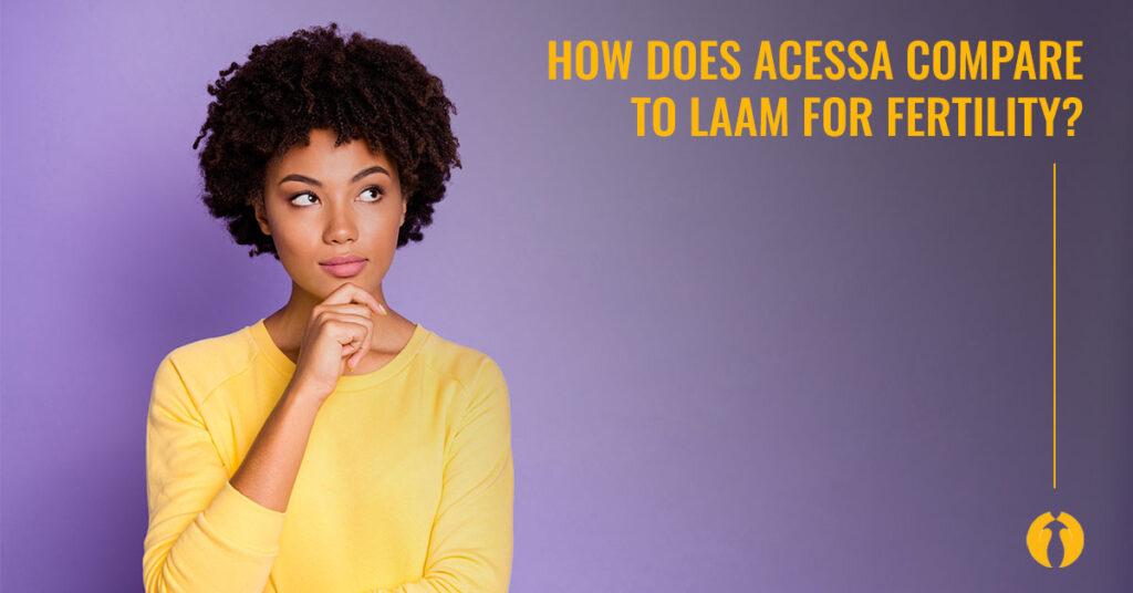 Acessa versus LAAM for fertility