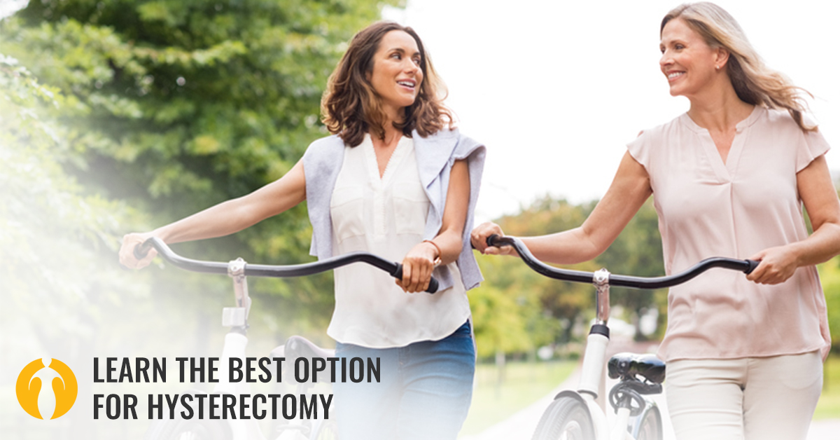 The Best Option for Hysterectomy Is DualPortGYN®