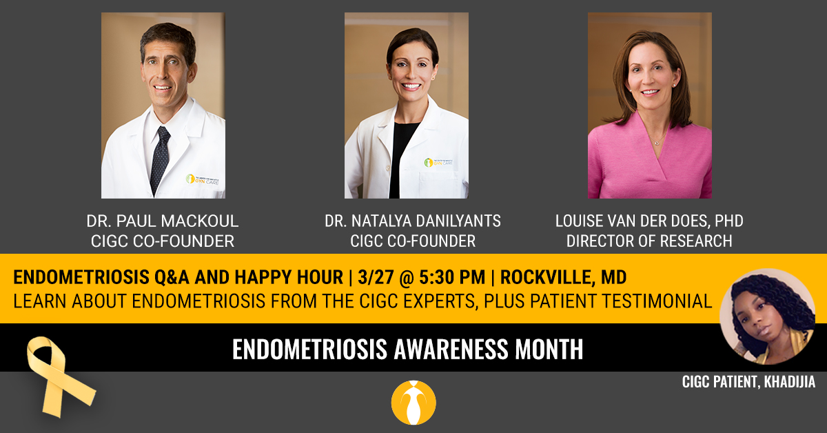 Endometriosis Q&A and Happy Hour Event