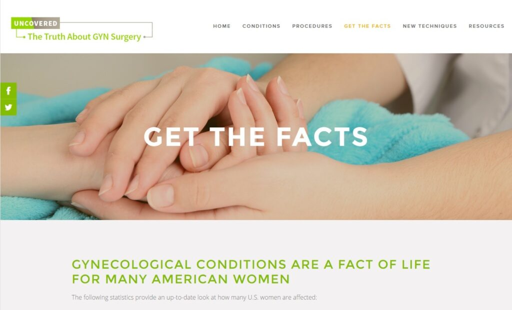 Get the Facts GYN surgery