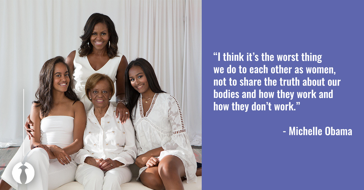 Michelle Obama Encourages Others To Be Open About Their Infertility Struggles