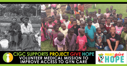 Cervical Cancer Prevention in Uganda: CIGC Vanguard Sponsor of Project Give Hope