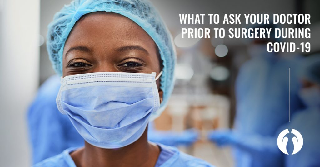 Question Surgery Covid Banner