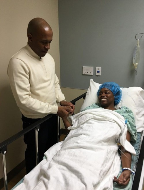 Raynelle in surgery center