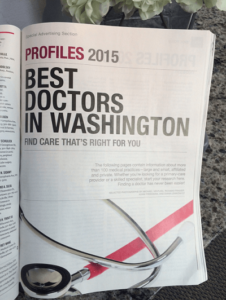 Washingtonian Best Doctors 2015