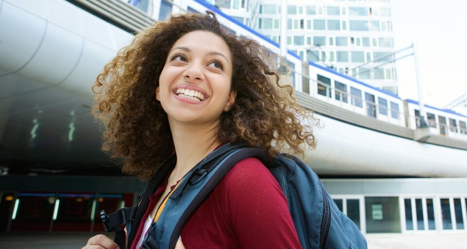 Young-woman-at-train-station